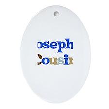 Joseph's Cousin Oval Ornament