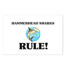 Hammerhead Sharks Rule! Postcards (Package of 8)