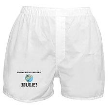 Hammerhead Sharks Rule! Boxer Shorts