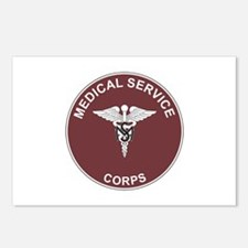 MEDICAL-SERVICE-CORPS Postcards (Package of 8)