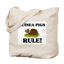 Guinea Pigs Rule! Tote Bag