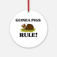 Guinea Pigs Rule! Ornament (Round)