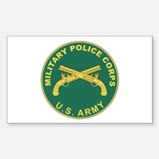MILITARY-POLICE Rectangle Decal