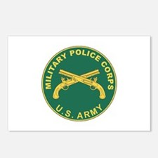 MILITARY-POLICE Postcards (Package of 8)