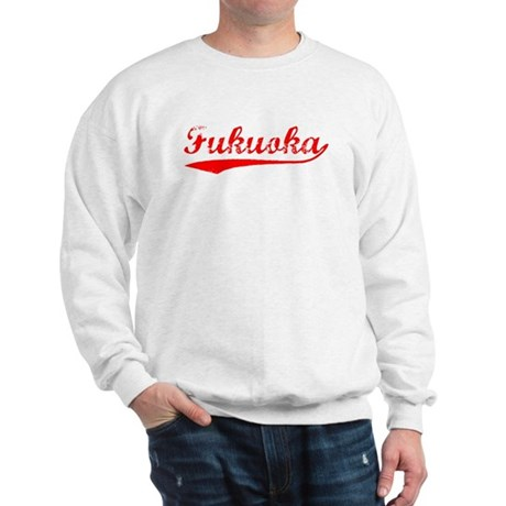 Vintage Fukuoka (Red) Sweatshirt