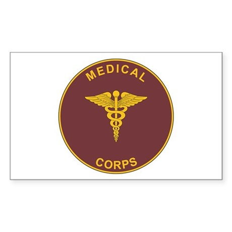 MEDICAL-CORPS Rectangle Sticker