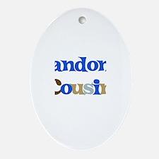 Landon's Cousin Oval Ornament