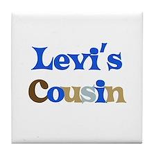 Levi's Cousin Tile Coaster