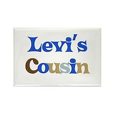 Levi's Cousin Rectangle Magnet