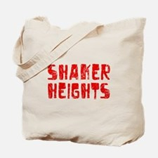 Shaker Heights Faded (Red) Tote Bag