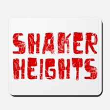 Shaker Heights Faded (Red) Mousepad