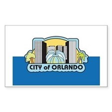 ORLANDO Rectangle Decal