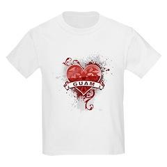 Heart Guam T-Shirt