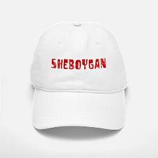 Sheboygan Faded (Red) Baseball Baseball Cap