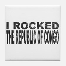 I Rocked Republic of Congo Tile Coaster