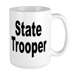 State Trooper Large Mug