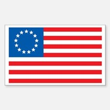 USA-1777 Rectangle Decal
