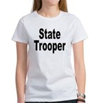 State Trooper (Front) Women's T-Shirt