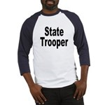 State Trooper (Front) Baseball Jersey
