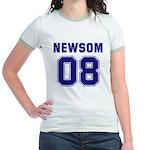 Newsom 08 Jr. Ringer T-Shirt