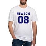 Newsom 08 Fitted T-Shirt