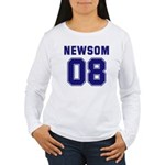 Newsom 08 Women's Long Sleeve T-Shirt