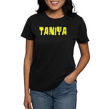 Taniya Faded (Gold) Tee