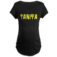 Taniya Faded (Gold) T-Shirt