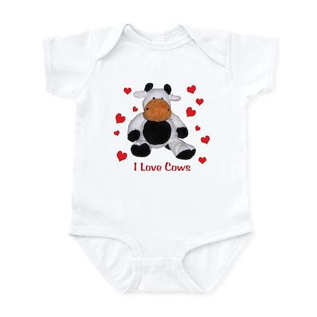 I love cows! Infant Bodysuit