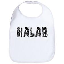 Halab Faded (Black) Bib