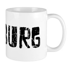 Hamburg Faded (Black) Mug