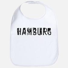 Hamburg Faded (Black) Bib