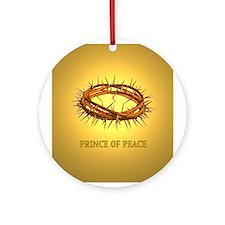 Prince of Peace Crown Keepsake (Round)