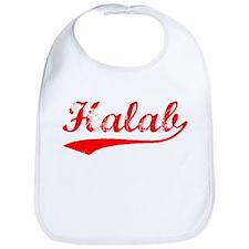 Vintage Halab (Red) Bib