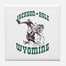 Jackson Hole Wyoming Tile Coaster