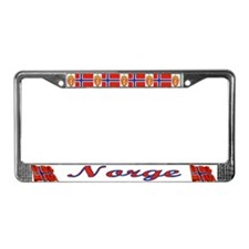 Norge License Plate Frame
