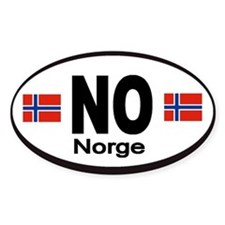Norway Norge Automobile Identification Decal