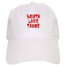 South Lake T.. Faded (Red) Baseball Cap