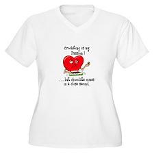Crocheting and Chocolate T-Shirt