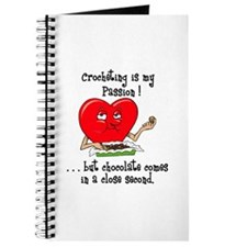 Crocheting and Chocolate Journal