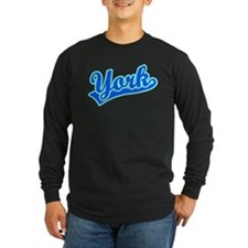 Retro York (Blue) T