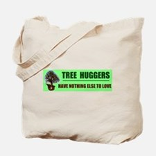 TREE HUGGERS Tote Bag