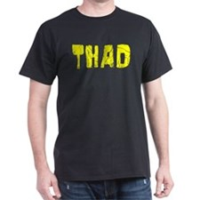 Thad Faded (Gold) T-Shirt