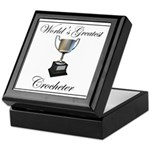 World's Best Crocheter Keepsake Box
