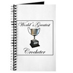 World's Best Crocheter Journal
