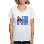 Still Playin' in the Dirt Women's V-Neck T-Shirt