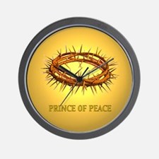 Prince of Peace Crown Wall Clock