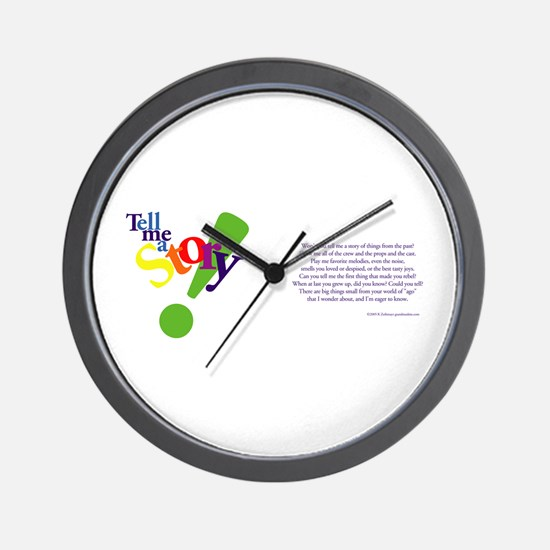 Tell Me a Story Wall Clock