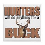 Hunters/Buck Tile Coaster