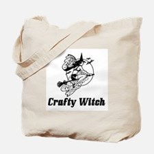 Crafty Witch Tote Bag